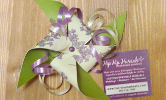 HHH Gift Bow and Tag